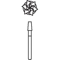 8647350 Oral Surgical Carbide Burs HP Taper Flat End CrossCut, 2.1, 703, 10/Pkg., 389735