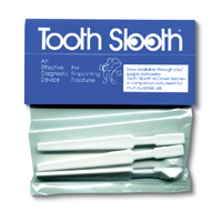 9533750 Tooth Slooth Tooth Slooth, White, 4/Pkg.