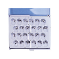 9516850 First Primary Molar Stainless Steel Kit, 72/Box