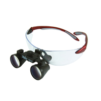 """9900950 Loupes Red Frame, 2.5x Kit, 10""""-13"""" Distance, 1-5000"""