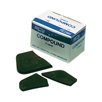 8697060 Compound Impression Cakes, Red, 8 oz., 8/Pkg., 6060100
