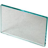 "9514160 Glass Mixing Slab 4"" x 2½"" x ¼"", Glass"