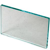"9514160 Glass Mixing Slab 4"" x 2½"" x ¼"", Glass"