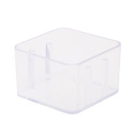 9900660 Magnetic Bur Blocks Cover for 8-Hole, Clear, 50Z401