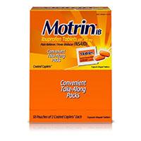 2284660 Motrin IB Motrin, 200 mg, Caps 50 x 2