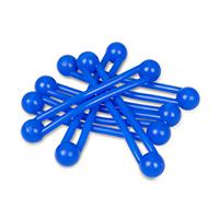 9907660 Pro-Ties Blue, 6/Pkg., 650102B