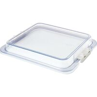 9538760 Procedure Tubs Safe-Lok Tub Cover, Clear, 20Z459