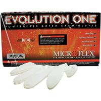 3173070 Evolution One Latex PF Gloves X-Small, 100/Box, EV2050XS