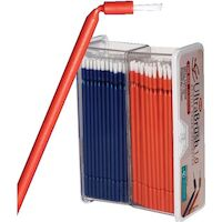 9532470 UltraBrush 1.0 Applicators, Orange/Blue, 200/Pkg, U1R200