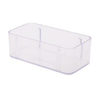 "9900670 Magnetic Bur Blocks Cover for 14-Hole, 1"" Standard, Clear, 50Z404"
