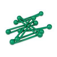 9907670 Pro-Ties Green, 6/Pkg., 650102G