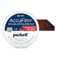 "8750180 AccuFilm II Black/Red, 3 1/2""L x 7/8"" W, 280/Pkg, S017"