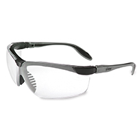 9507280 UVEX Genesis Black Frame with Clear Lens, 355810
