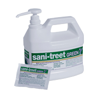 8762380 Sani-Treet Green Gallon, Lemongrass/Lavender, 7000