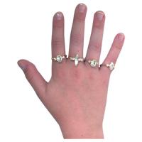 3317780 Dazzling-Diamond Rings Diamond Rings, 48/Pkg., RB40