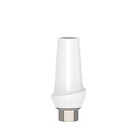 4970290 Esthetic Zirconium Abutment Titanium Base Straight, 1 mm x 10 mm, AGM-ZRM-S1