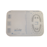 """9907690 Tray Covers Ritter B, Tooth, 8.5""""x 12.25"""", 1000/Box, 917520"""