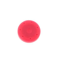 2211790 Round Magnetic Bur Blocks Pink, 7-Hole, 400BS-S6