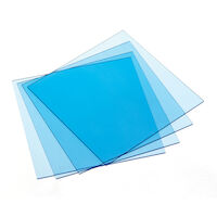 "9533790 Sheet Resin Materials Temporary Splint, .080"", Clear, 25/Box, 9614980"
