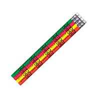 "3310890 Smile Tooth Pencils Neon, 7.5"", 48/Pkg."