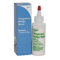 8133990 Temporary Bridge Resin Powder, 42 g, Shade 62 Light, 666001