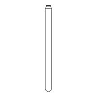 9591401 Tissue Protective End FG, NTI Diamonds 840-016, Medium, 5/Pkg.