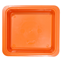 9538701 Procedure Tubs Vibrant Orange, 20Z463Q