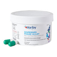 9526801 Dispersed Phase Alloy Regular Set, One Spill, 400 mg, White/Green, 100/Pkg