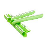 9535901 Hygovac Bio Short, Lime Green, Aspirator Tubes, 100/Box, BS1000LG