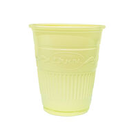 5250611 Plastic Cups Plastic Drinking Cups,1000/Case,Yellow,27702