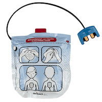 5252611 Lifeline VIEW Defibrillator Pediatric Pads for Lifeline VIEW, DDP-2002