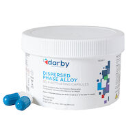 9526811 Dispersed Phase Alloy Regular Set, Two Spill, 600 mg, White/Navy, 100/Pkg