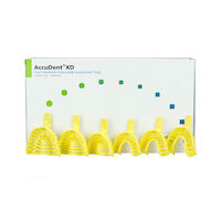 9536721 Accudent XD Impression Trays 24/Box, Dentate Tray Assortment, 673716