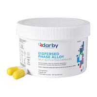 9526821 Dispersed Phase Alloy Regular Set, Three Spill, 800 mg, White/Yellow, 100/Pkg
