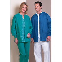 3501921 Warmup Jackets Unisex Medium, Ceil Blue, 6722