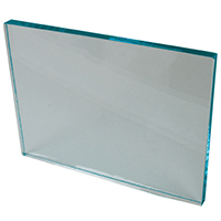 "9905731 Glass Mixing Slab 6"" x 8"" x ½"", Glass"