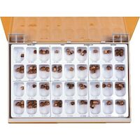 8454041 Gold Anodized Crowns #1, Lower Right, 5/Box, 940641