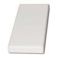 8900741 Ultimate Edge Sharpening Diamond Head Stone, White, T061