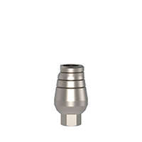 4970251 Straight Cemented Abutments Short Standard Cementing Post, 7 mm, AGM-101S