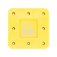 9514551 Magnetic Bur Blocks 8-Hole, Neon Yellow, 50Z400O