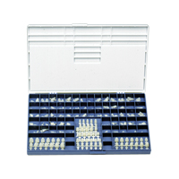 9518551 Polycarbonate Crowns 36, 5/Box