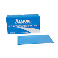 9538651 Bite Registration Wax Sheets, Blue, 17/Box, 42600