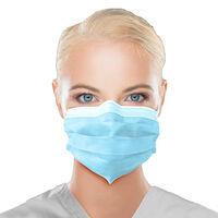5251061 ASTM Level 3 Earloop Mask ASTM Level 3 Earloop Mask, 50/Box, Blue, ULM-6381