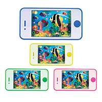 3310161 Water Games Cell Phone Shape, 24/Pkg.