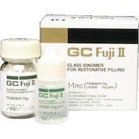 9537161 GC Fuji II Yellow Brown (22), Powder, 15 g, 000096