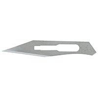 9909161 Stainless Steel Sterile Surgical Blades #25, 100/Box, 4-325