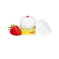 8150361 Cetacaine Strawberry, 32 g, Pump Top Jar, 0217