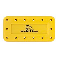 9514561 Magnetic Bur Blocks 14-Hole, Neon Yellow, 50Z403O
