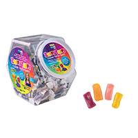 3310871 Zolli Candy JV524 Zaffi Taffy, 125/Canister, 20 Canisters/Case, 3025