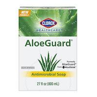 6600971 Clorox AloeGuard Liquid 800 mL Dispenser Refill Bag Dispenser Refill Bag,27 oz ,32379